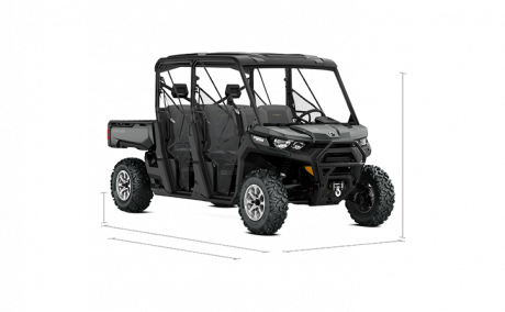 Can-am Defender MAX LONE STAR 2020