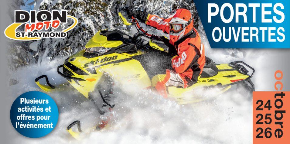 Portes Ouvertes Ski-Doo 2019