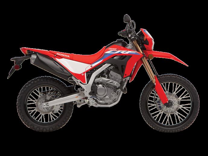 CRF300L ABS Rouge extrême 2021