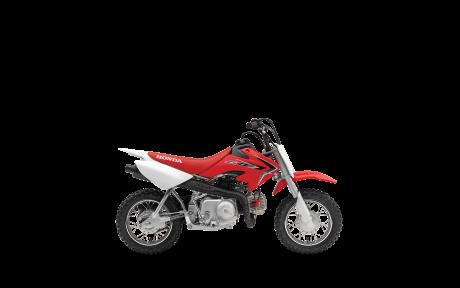 Honda CRF50F Rouge extrême 2021