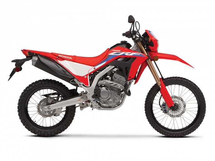 CRF300L Rouge extrême 2021