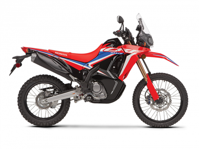 CRF300L RALLY Rouge extrême 2021