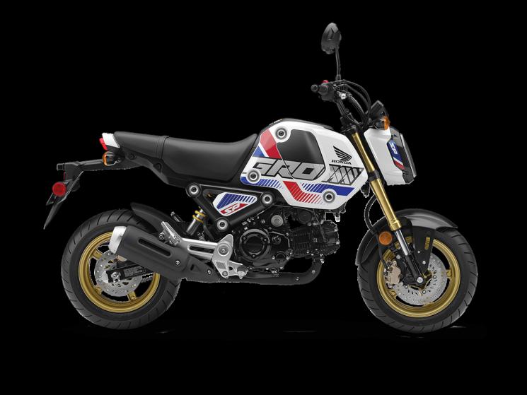 Honda GromTM ABS Blanc horizon nacré (Tricolore) 2022